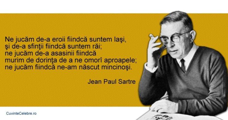 Citat-Jean-Paul-Sartre rautate si minciuna