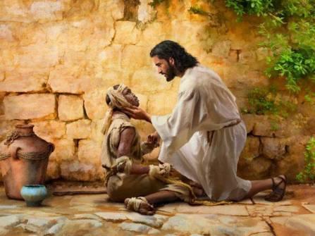 Isus si leprosul