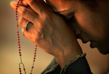 rugaciune rozariul singuratate tacere