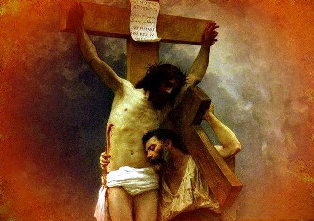 Isus rastignit si crucea noastra
