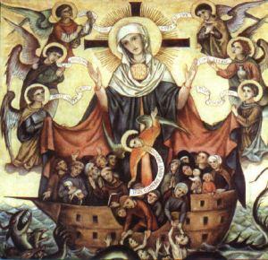 maria maica bisericii