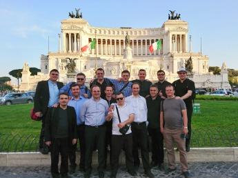 intalnirea de serie Roma Piata Venetia