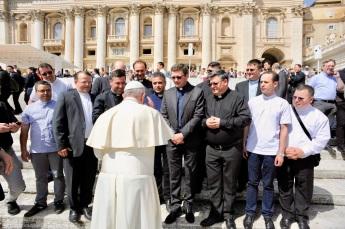 intalnirea de serie Roma_binecuvantarea Papei Francisc