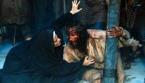 Isus si Mama sa, Maria pe drumul Calvarului