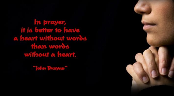 rugaciune cuvintele si inima