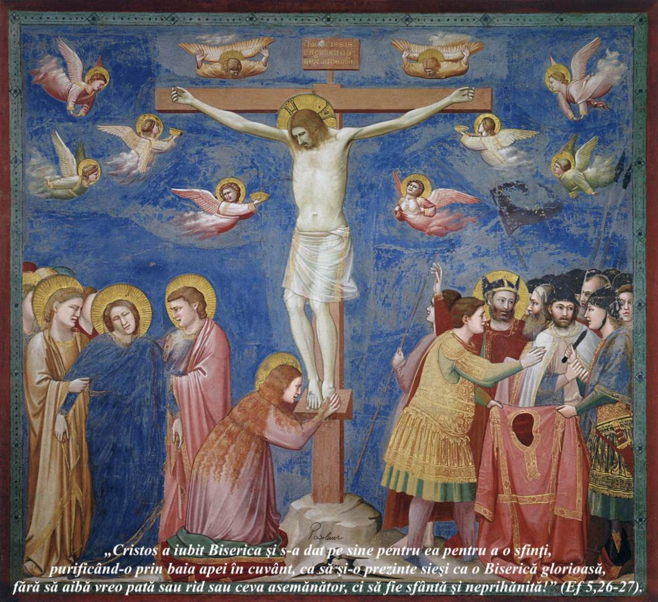 Cristoa a iubit Biserica