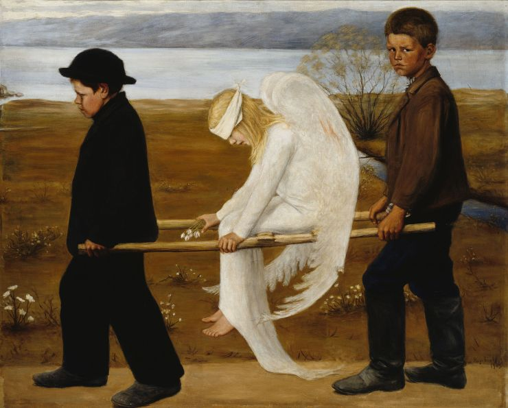 Hugo Simberg: The Wounded Angel