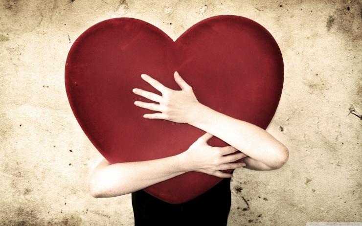 iubirea inima imbratisare
