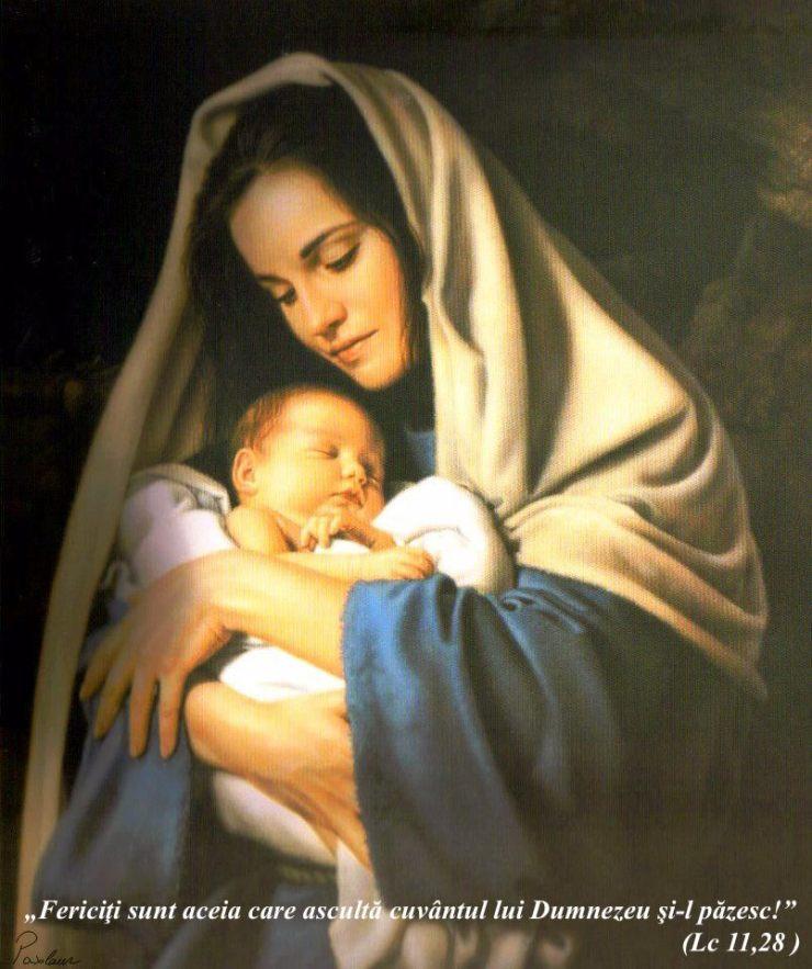 maria si Isus gingasia iubirii
