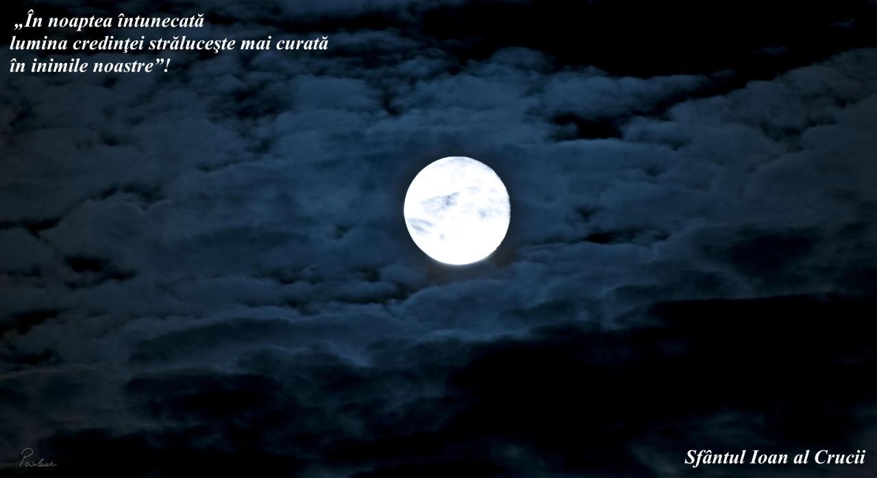 noaptea intunecata si lumina credinței