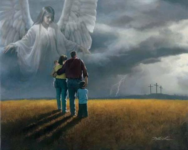 ingerul providentei divine si familia
