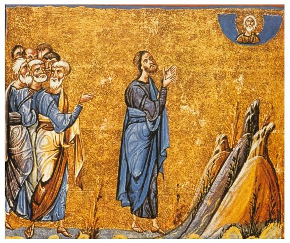 Isus in Rugaciune
