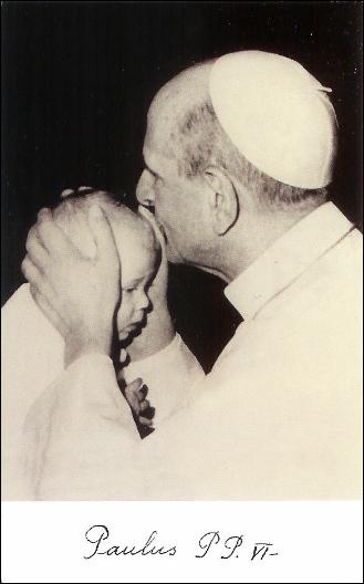 Papa Paul al VI lea