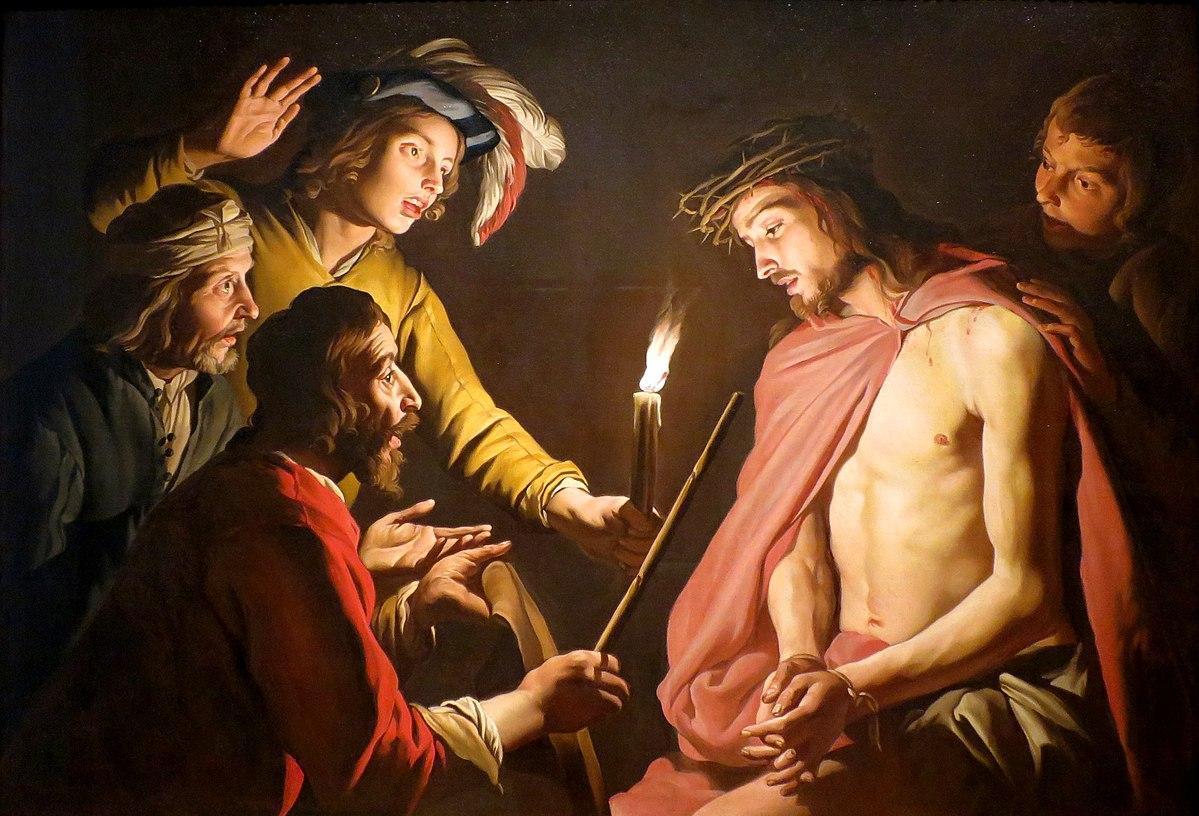 Cristos rege Stom_Matthias_-_Christ_Crowned_with_Thorns_-_c._1633-1639