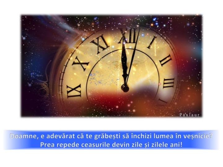 decembrie 29_Dumnezeu timpul si vesnicia