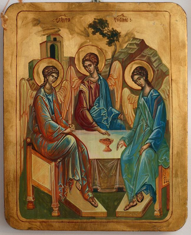 La masa cu Dumnezeu_sfanta Treime Rubliov
