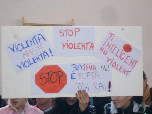 stop violentei