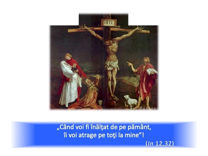 Isus Rastignit ne atrage la sine_Mathis Gothart Grünewald