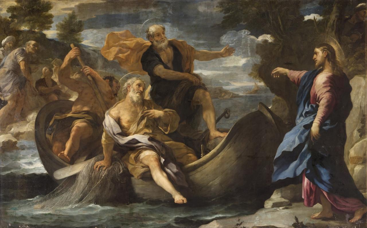 Chemarea sfântului Petru