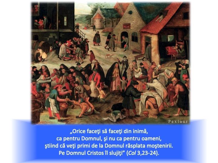 februarie 12 fapte de milostivire