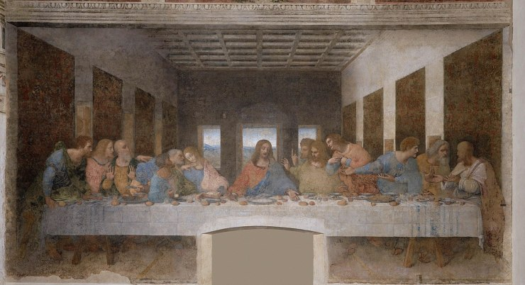 Leonardo_da_Vinci_-_Ultima cina_The_Last_Supper
