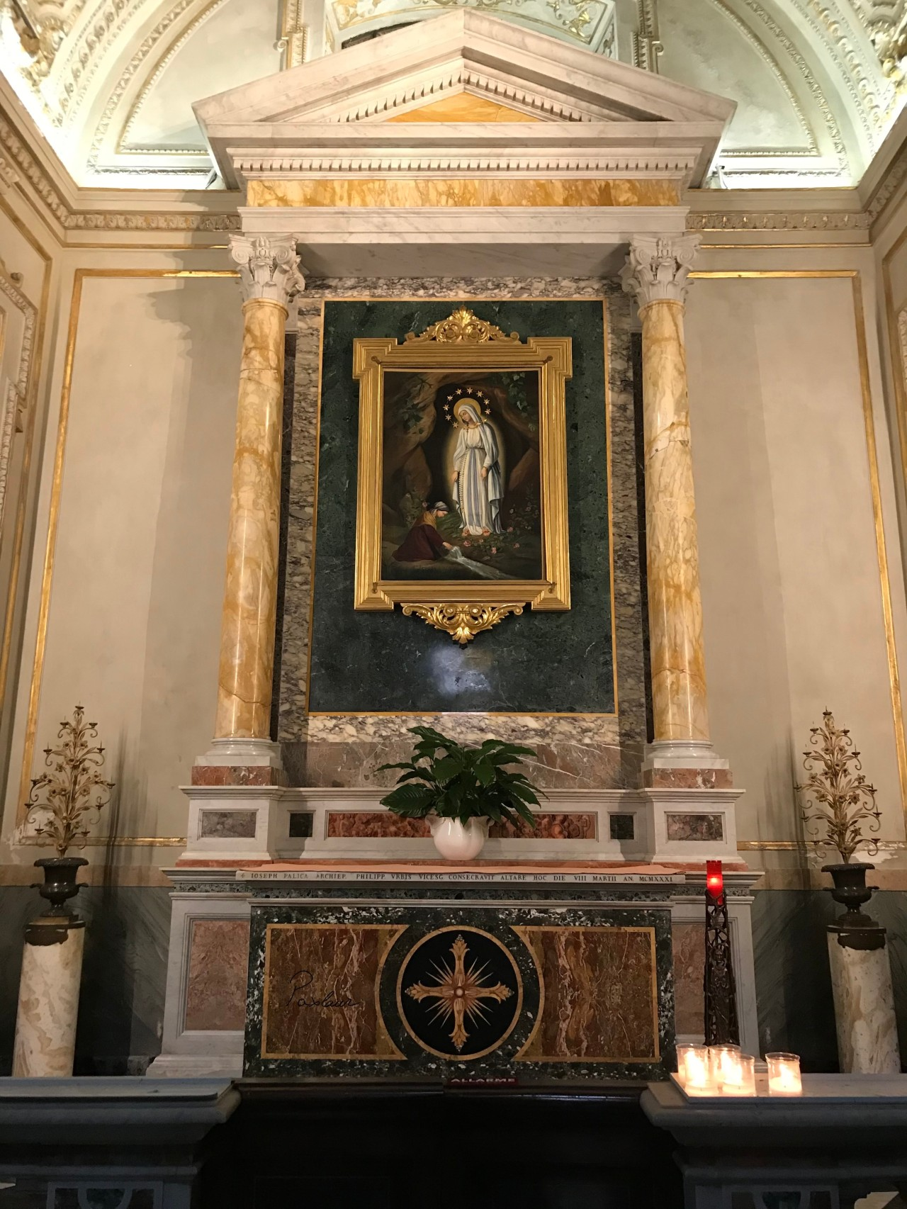 Sfanta Fecioara Maria Lourdes Biserica in Roma