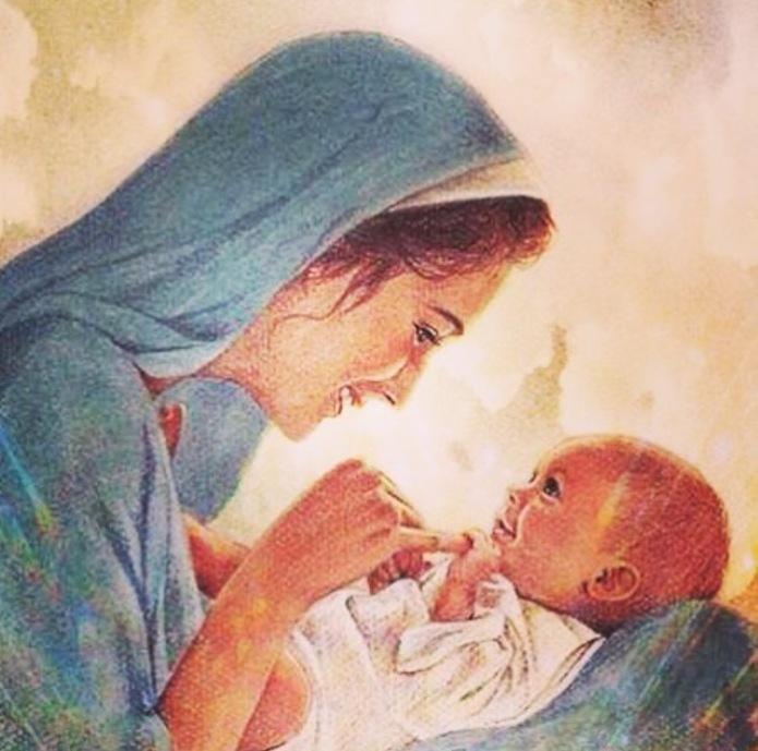 Sfanta Maria si Isus Cristos