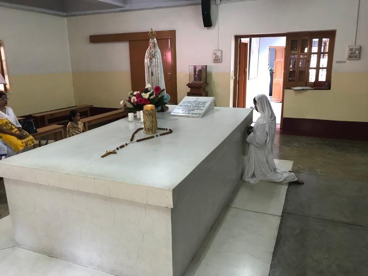 Mormantul sfintei Tereza de Calcutta - India 23 iunie 2019
