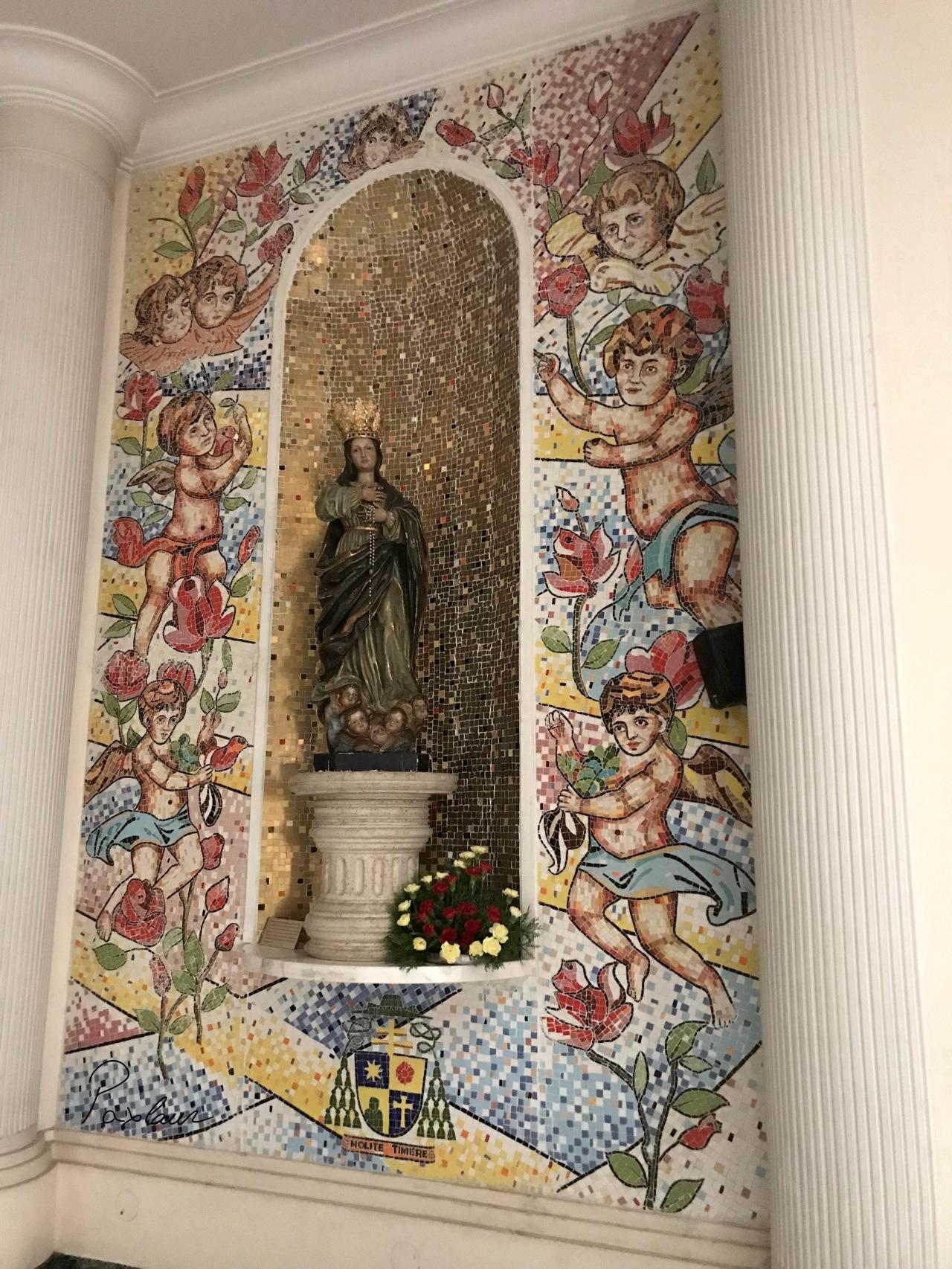 Sf Maria Nolite Timere_curaj_capela India