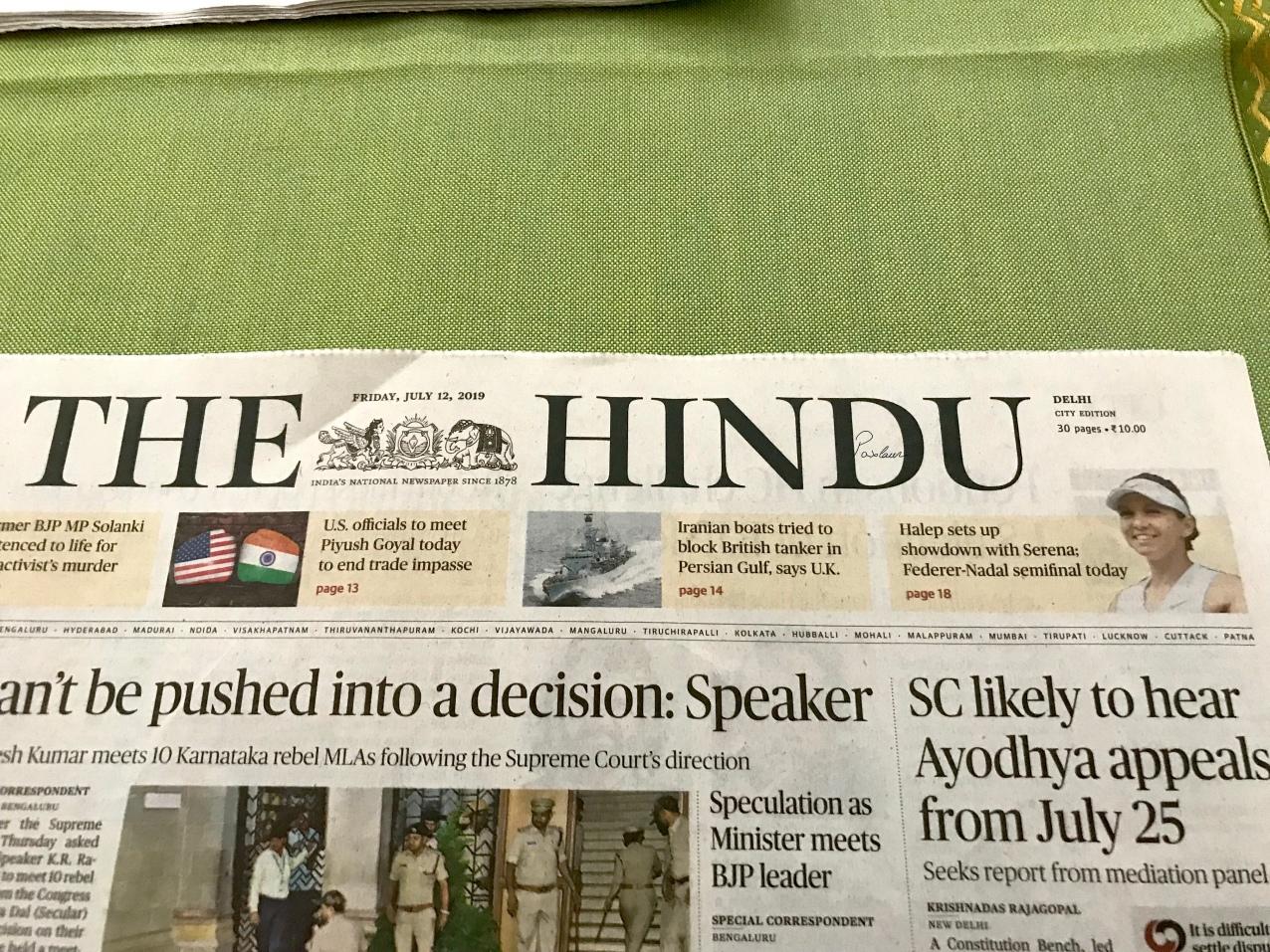 Simona Halep_India The Hindu