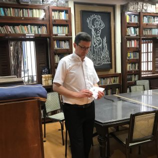 Acasa la Mahatma Gandhi_Biblioteca_India_4