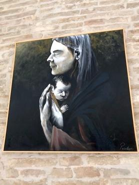Lanciano_expozitie_Maria si Isus