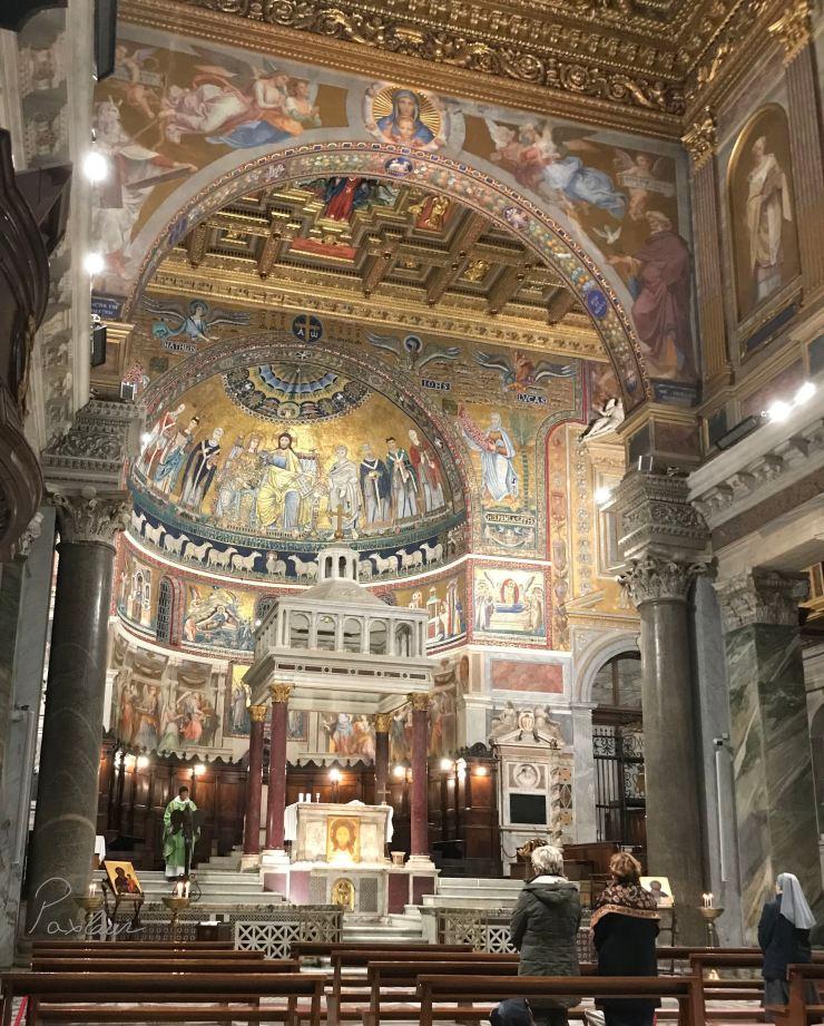 """Bazilica """"Santa Maria in Trastevere"""" - Roma"""