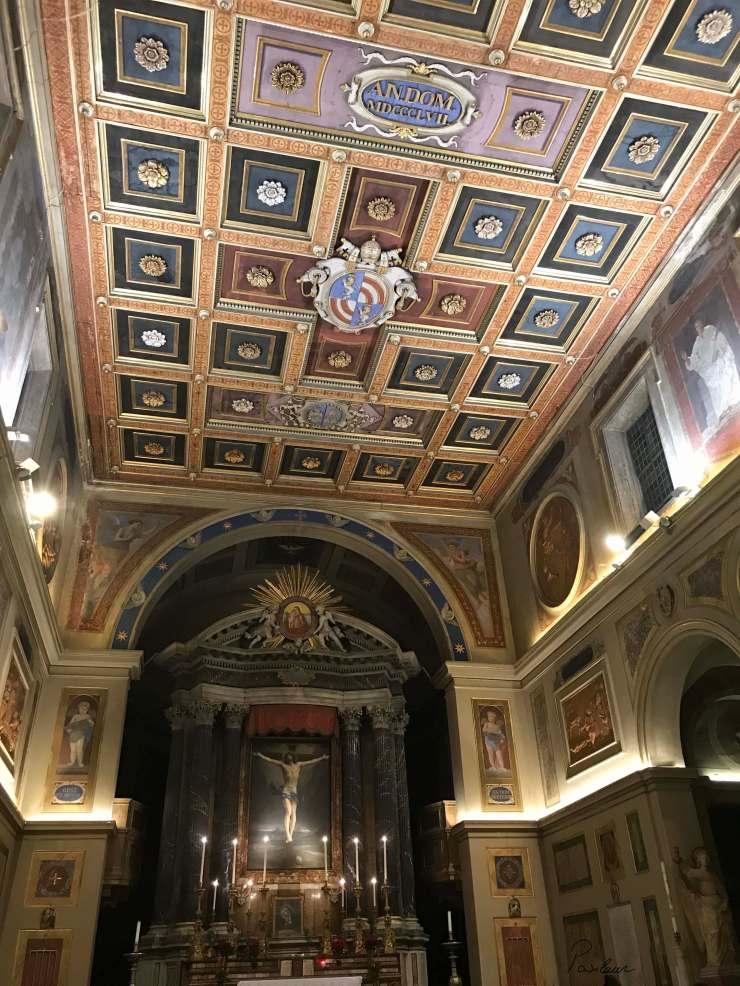 Sfantul Laurentiu_San Lorenzo in Lucina Roma